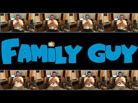 Family Guy Theme | Trumpet Multitrack | Antonio Cabrera | Danny Welsh