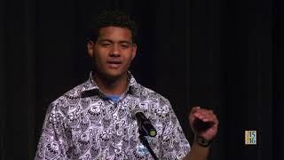 Poetry Out Loud 2018: Ma