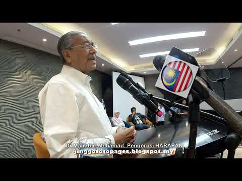 20190719 Dr Mahathir @ Keadilan Retreat