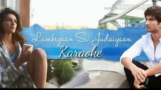 Lambiyan Si Judaaiyan Karaoke With Lyrics | Arijit Singh | Raabta