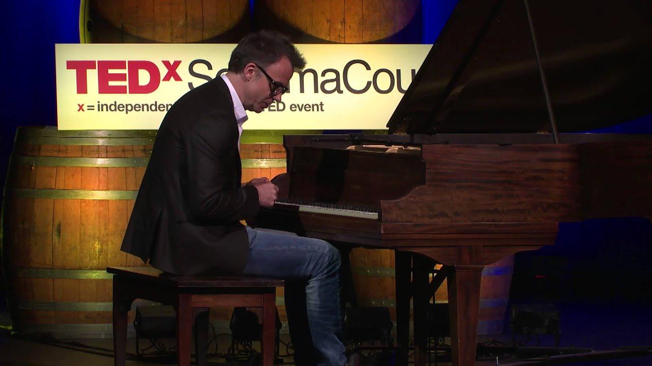Piano on the edge: Rudolf Budginas at TEDxSonomaCounty