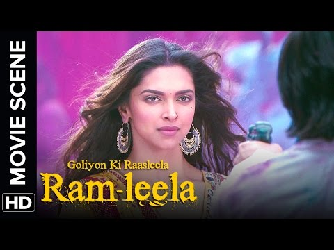 Ranveer is awestruck | Ram - Leela | Movie Scene