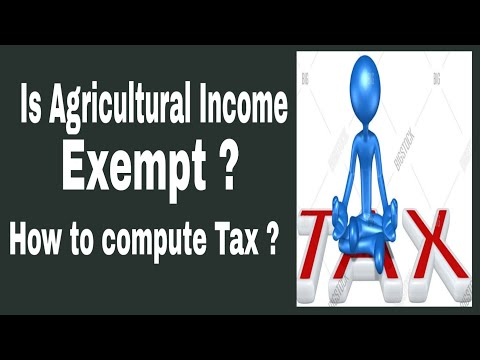 Income Tax on agricultural Income with computation- HINDI ( FinTax)