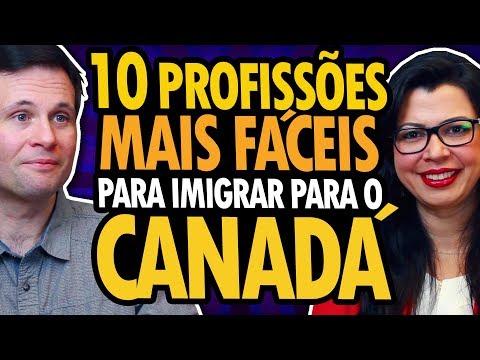 10 PROFISSÕES MAIS FÁCEIS PARA IMIGRAR PARA O CANADÁ