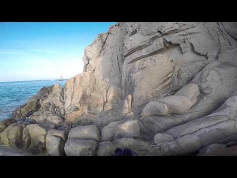 Slow TV, Cabo San Lucas, Walk to Lover's Beach with Jump off Pelican Rock