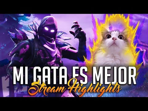 MI GATA ES MEJOR QUE YO! | Stream Highlights (Fortnite BR)