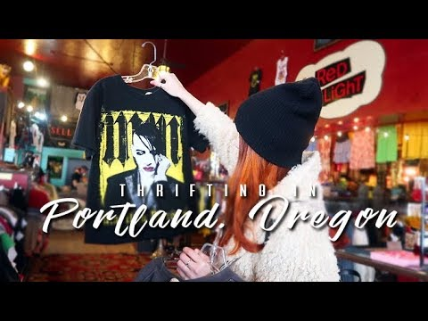 thrift with me + haul | portland, oregon