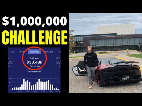 $1Million in 30 Days CHALLENGE (Update) thumbnail