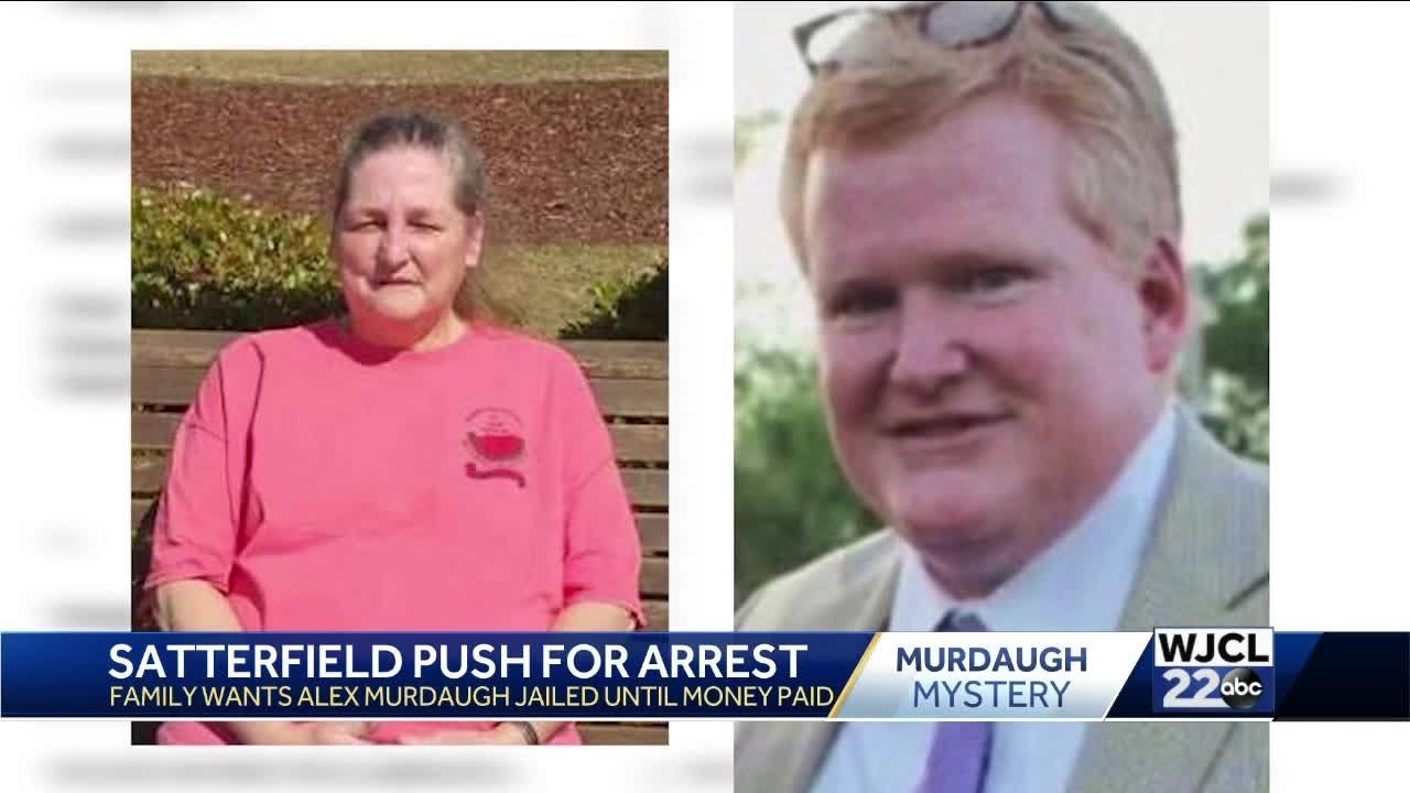 Alex Murdaugh arrested, charged over Gloria Satterfield life ...