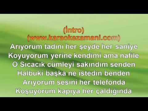 Ufuk Beydemir - Ay Tenli Kadın ( Karaoke )