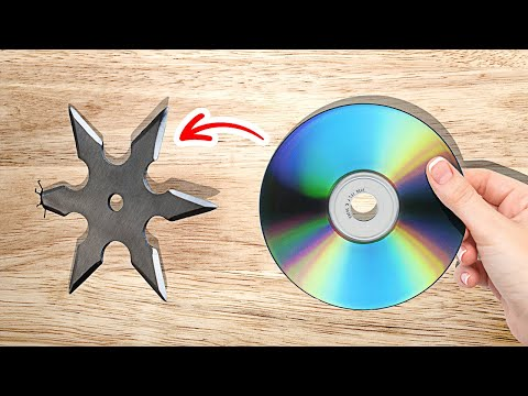 HOW TO CREATE Awesome Things With CD DISK