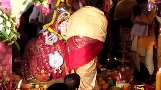 Indian Priest POSSESSED by Goddess Annapoorna - SPECTACULAR Puja Scene - Part 2!