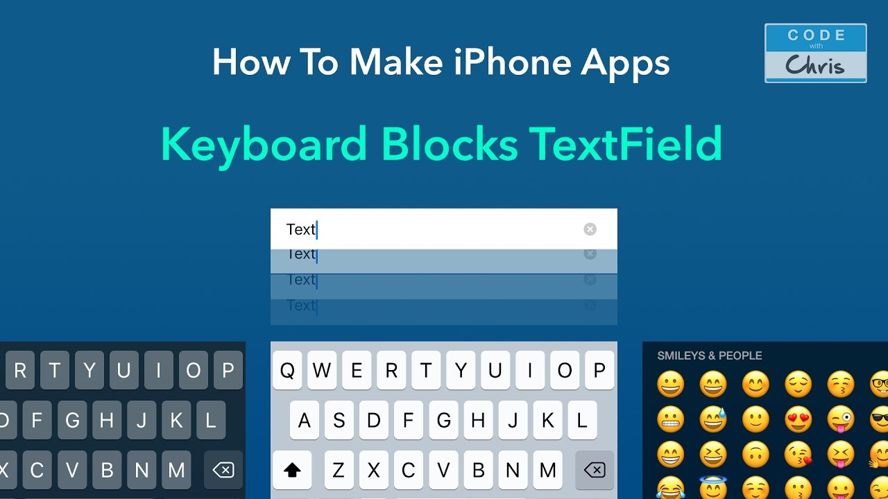 Solved: iOS Keyboard Blocks Text Field