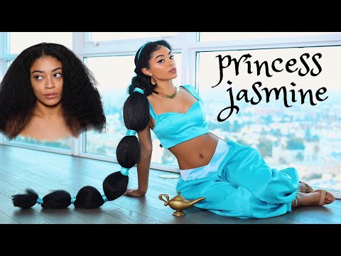 Turning Into Princess Jasmine! | jasmeannnn
