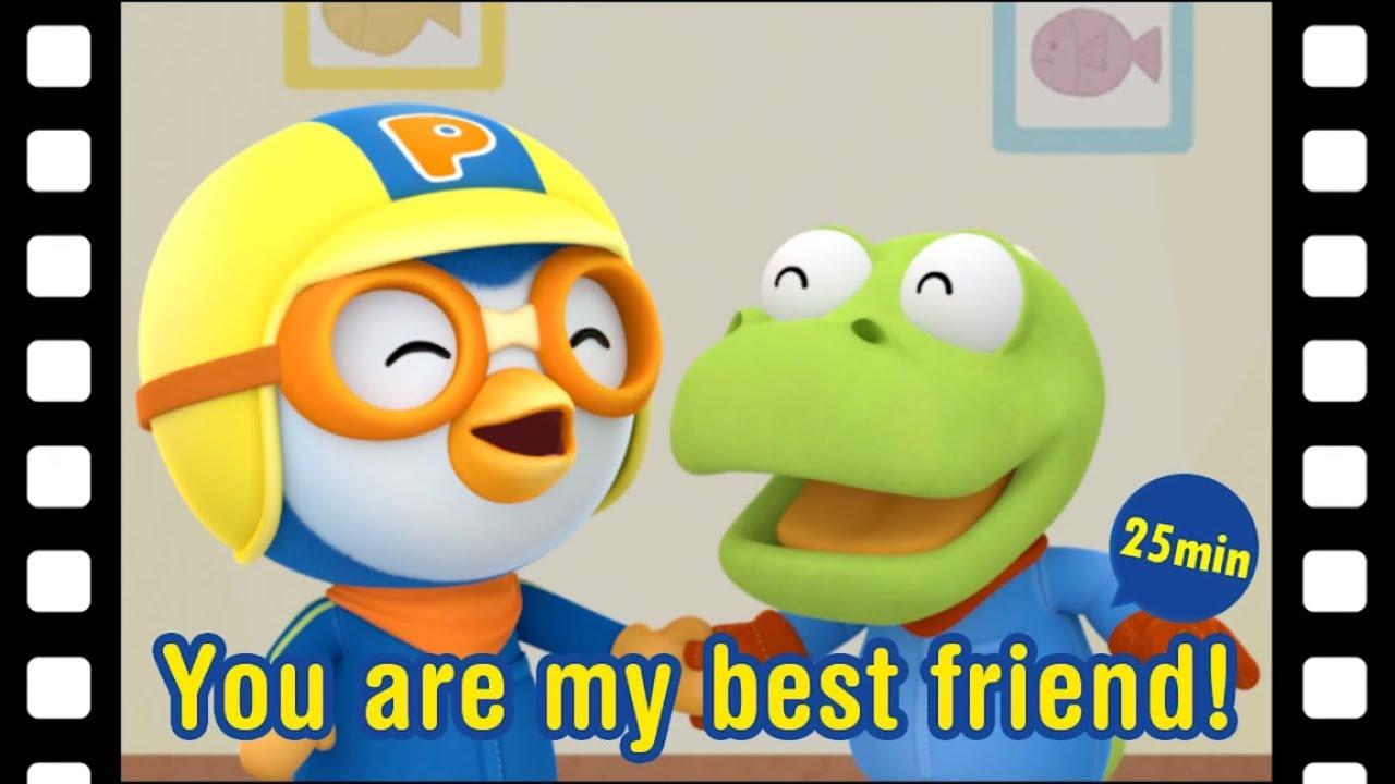 Pororo mini movie | #36 You are my best friend! (30min) | BFF | Kids
