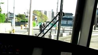 富山ライトレール(2010.04.24 奥田中学校前 → インテック本社前)