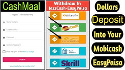 Cashmaal LTD Skrill Account Deposit Kya best Method Hai ? | Abdul Rauf Tips