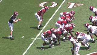 Highlights from Alabama's 2018 A-Day Game