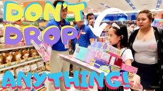I'LL BUY WHATEVER YOU CAN CARRY CHALLENGE! (TOY STORE EDITION!) | YESHA C.