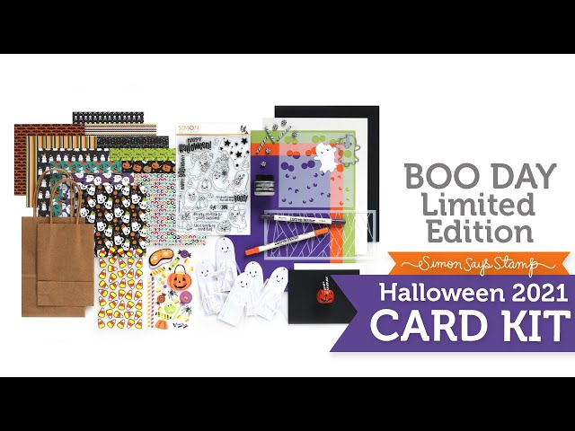 Limited Edition Halloween 2021 Card Kit Reveal and Inspiration: Boo Day