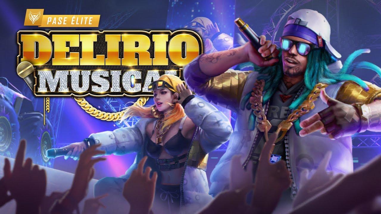 DELIRIO MUSICAL 🎶 Nuevo Pase Élite de Noviembre - Animación | Garena Free Fire