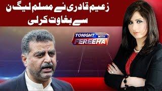 Zaeem Qadri Ne PML-N Se Baghawat Kar Li - Tonight With Fereeha - 21 June 2018 | AbbTakk