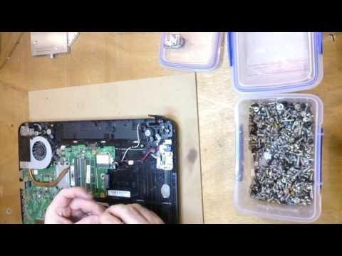 What I fix daily - Toshiba C50 laptop with broken screen hinge & more mistakes