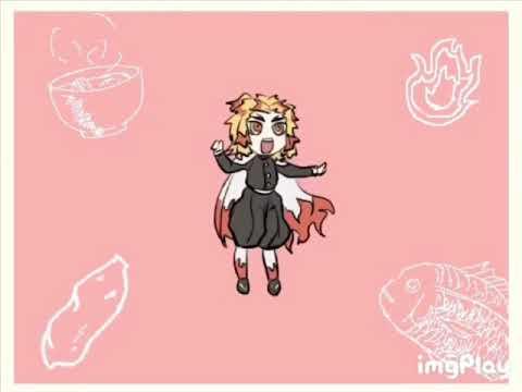 【手描き】煉獄杏寿郎でせっこりんらぁん【鬼滅の刃】