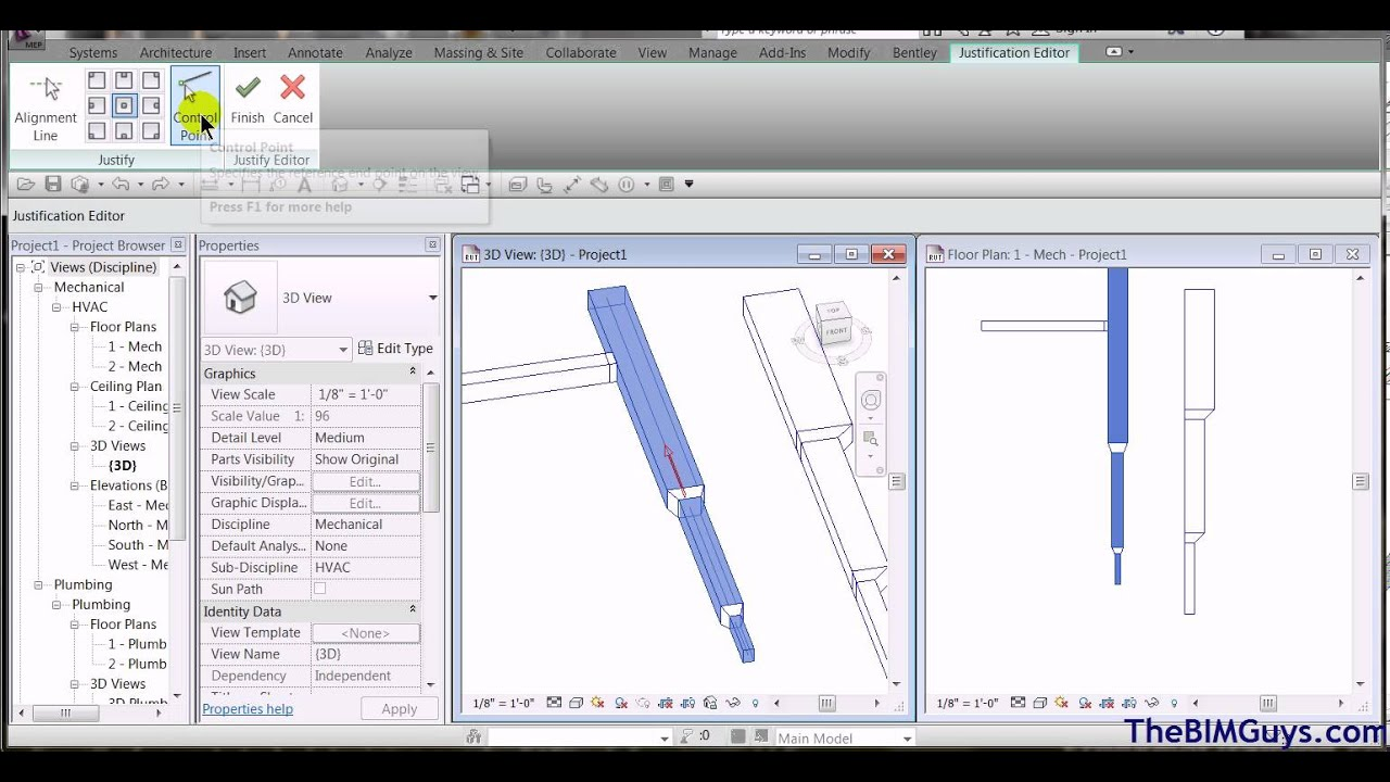 Revit Mep Justifying Aligning Ductwork In Hvac Duct Drawing Autocad Cadtechseminarscom