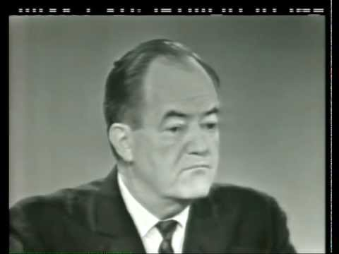Hubert Humphrey on Face the Nation