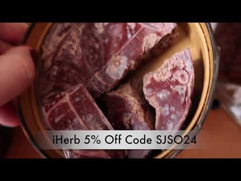 iHerb Organic Raw  Dark Chocolate Vegan Earth Circle Organics