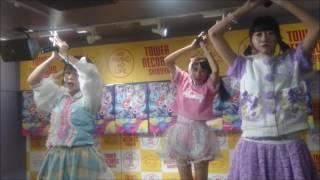天晴れ!原宿の1st アルバム『APPARE! WORLD』リリイベで6曲目に披露さ...