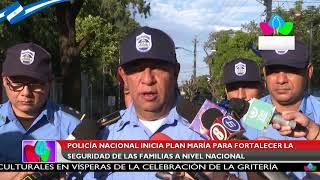 Policía Nacional inicia Plan María para fortalecer la seguridad de las familias a nivel nacional