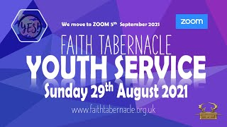 Y.E.S Youth Service 29th August 2021
