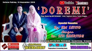 Live Streaming Part 2 / Campursari DOREMI / DESTRA AUDIO Sound System // HVS SRAGEN