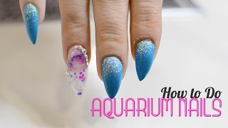 Aquarium Nails by Kaycie Kyle