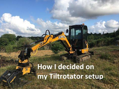 Deciding on a tiltrotator setup for my JCB 8026 mini digger
