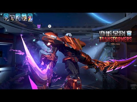 TRANSFORMERS Online 变形金刚 - Dead End,Bumblebee,BlackOut vs Optimus Prime PVE Mode 11 Round Gameplay