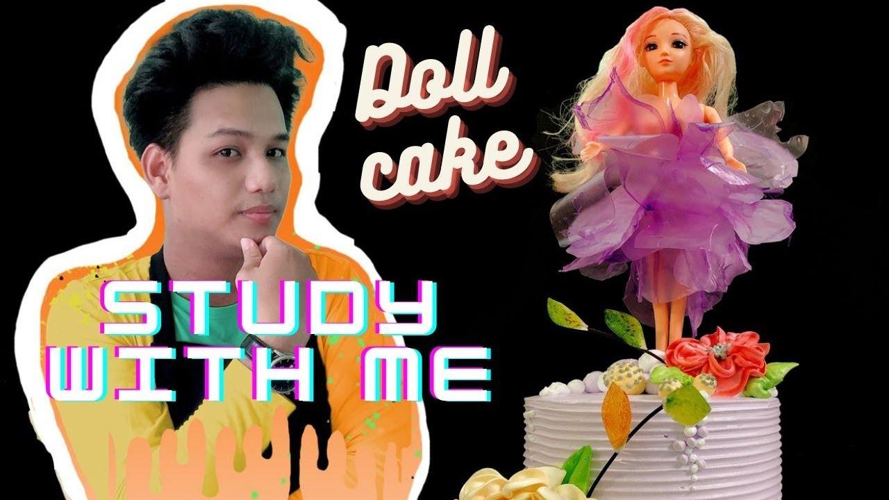 #dollcake Diy cake decorating tips Doll - Cake tutorial doll - How to make cakes