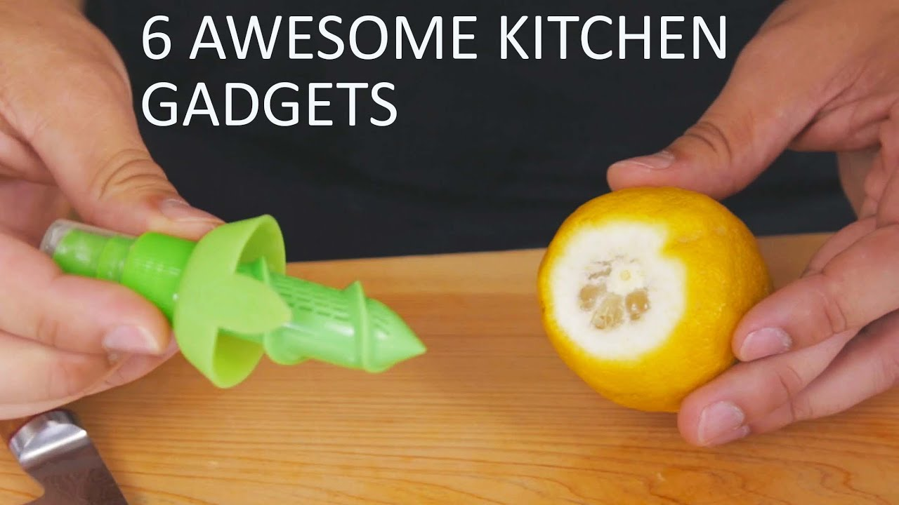 6 awesome kitchen gadgets Awesome kitchen gadgets