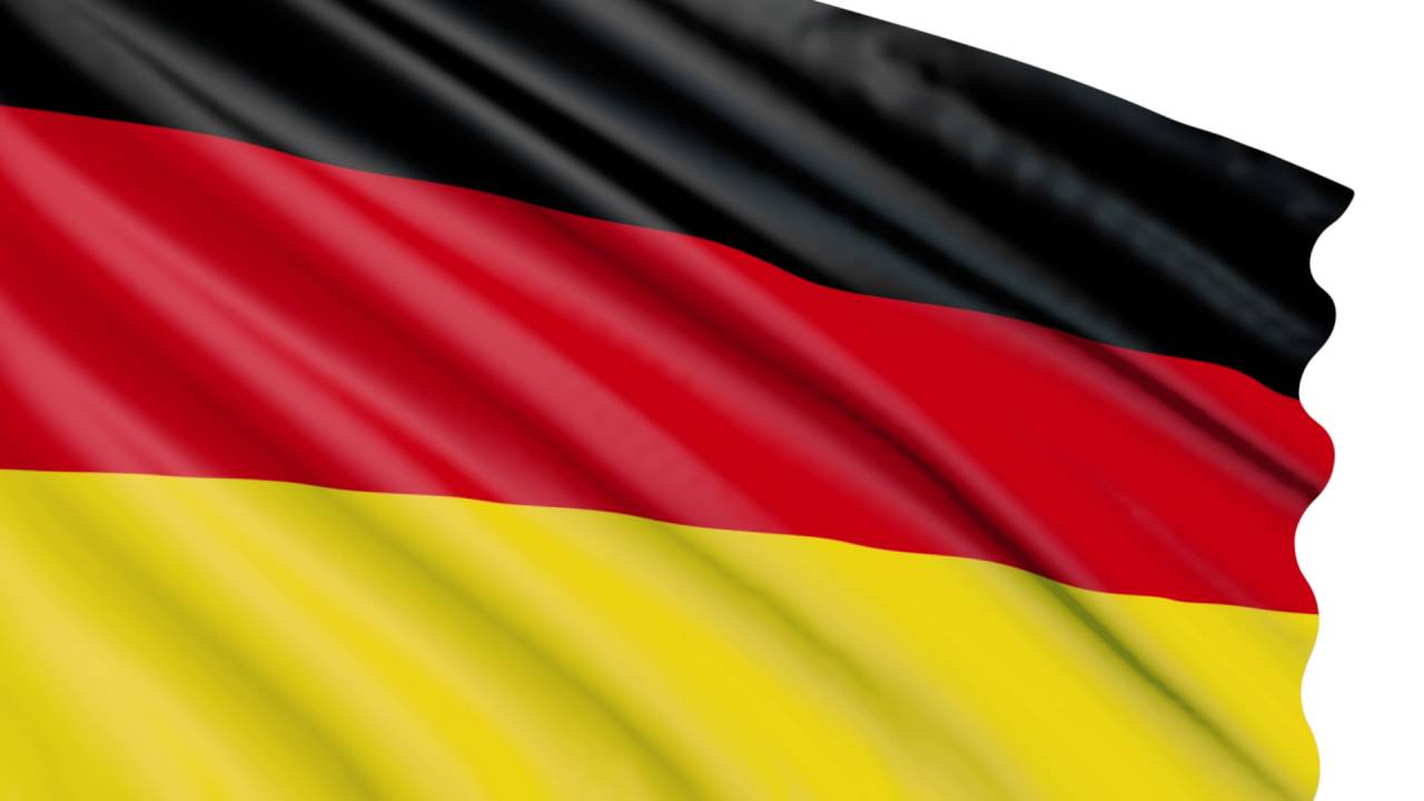 Bandera 3D Animada Gratis Alemania