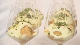 Tiramisu z pistacjami (tiramisu con pistacchi)