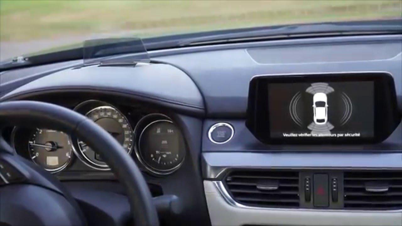 Mazda6 2016 Dashboard View