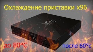 Охлаждение X96 Android TV BOX. Инструкция.