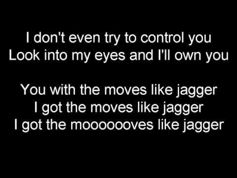 Maroon 5 Moves like Jagger Letra y Traducción