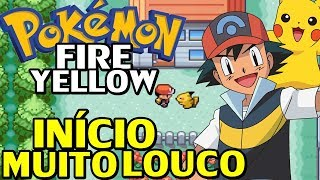 Pokémon Fire Yellow (Hack Rom) - O Início do Yellow no Fire Red (SQN?)