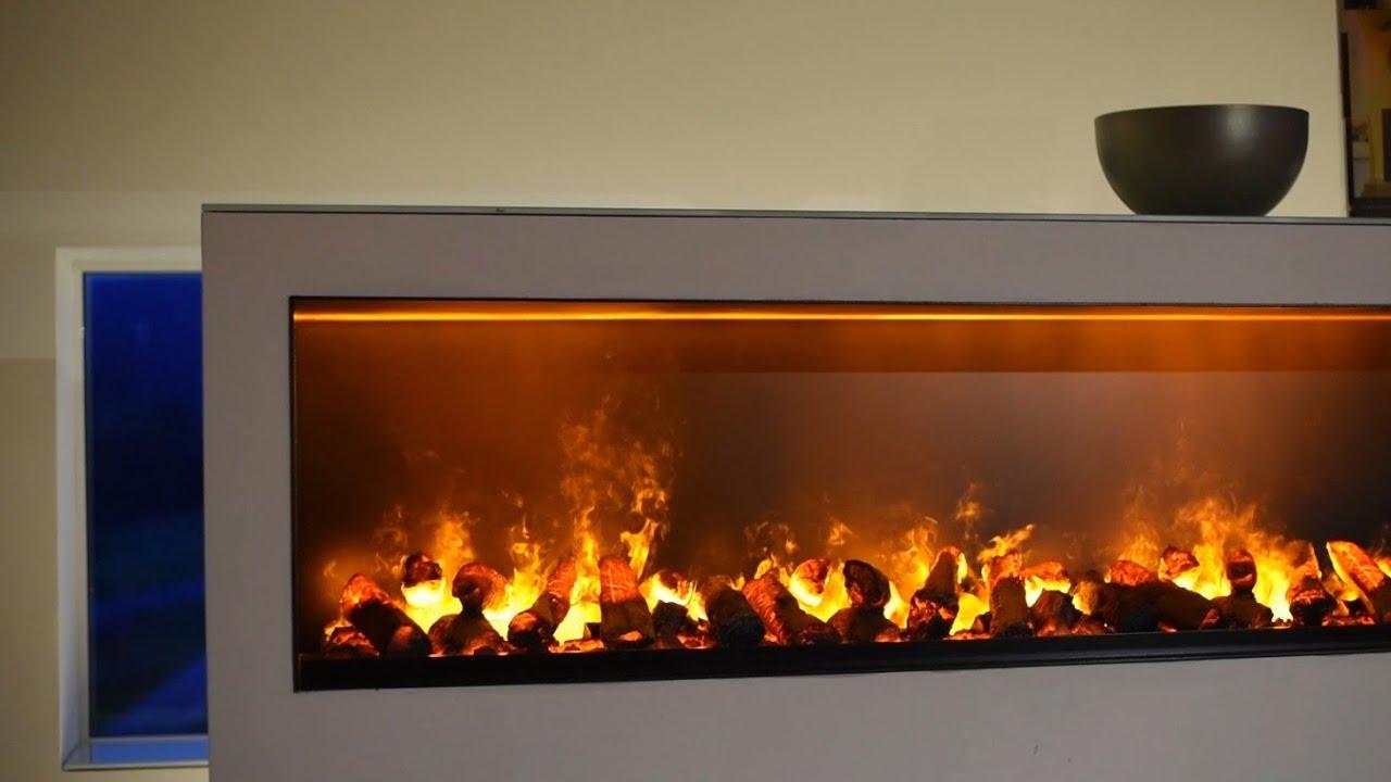 Декоративный камин своими руками. Имитация пламени - YouTube