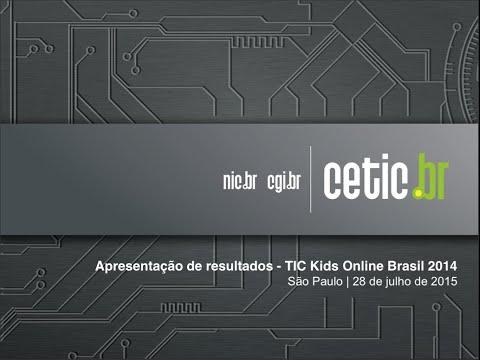 Coletiva TIC Kids Online e Campanha Internet Sem Vacilo