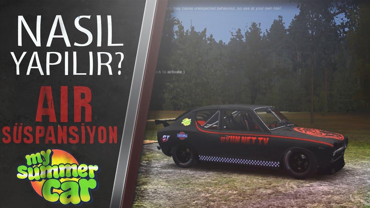 My Summer Car Air Süspansiyon Modu Nasıl Yüklenir Türkçe