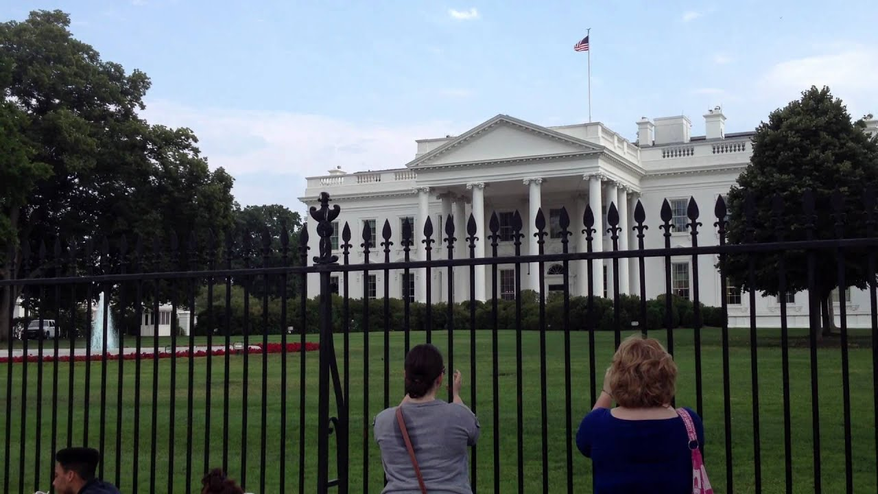 The U S White House Front View